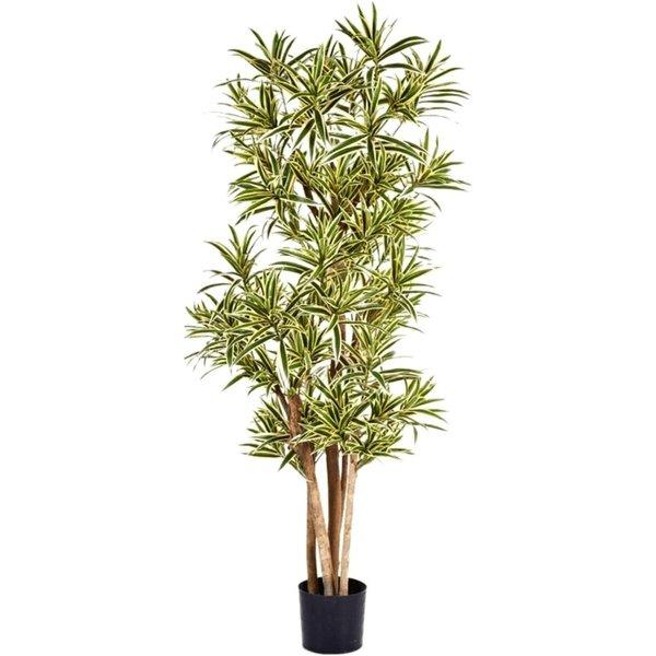 Dracaena Reflexa Yellow - kunstplant