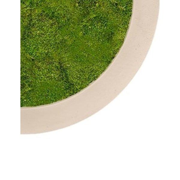 Platmos Polystone Schilderij Rond