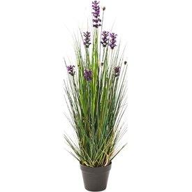 Fleur.nl - Lavender Grass - kunstplant
