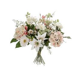 Fleur.nl - Boeket White Cream - kunstplant