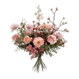 Fleur.nl - Boeket Pink XL - kunstplant
