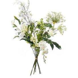 Fleur.nl - Boeket White - kunstplant