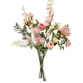 Fleur.nl - Boeket Pink - kunstplant