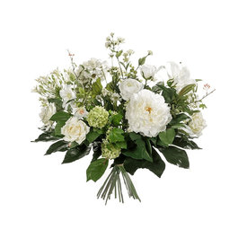 Fleur.nl - Boeket White Mix  - kunstplant