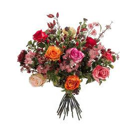 Fleur.nl - Boeket Rozen Mix - kunstplant