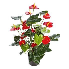 Fleur.nl - Anthurium de Luxe Red - kunstplant