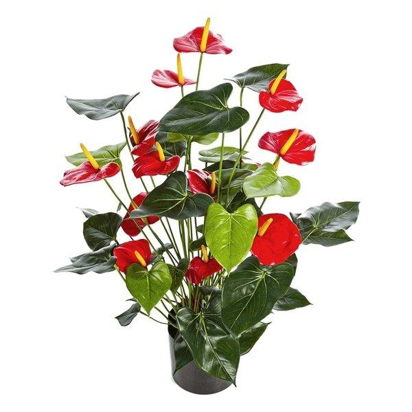 Anthurium de Luxe Red- kunstplant