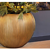 Capi Nature Groove Vase Bowl Gold Ø 40