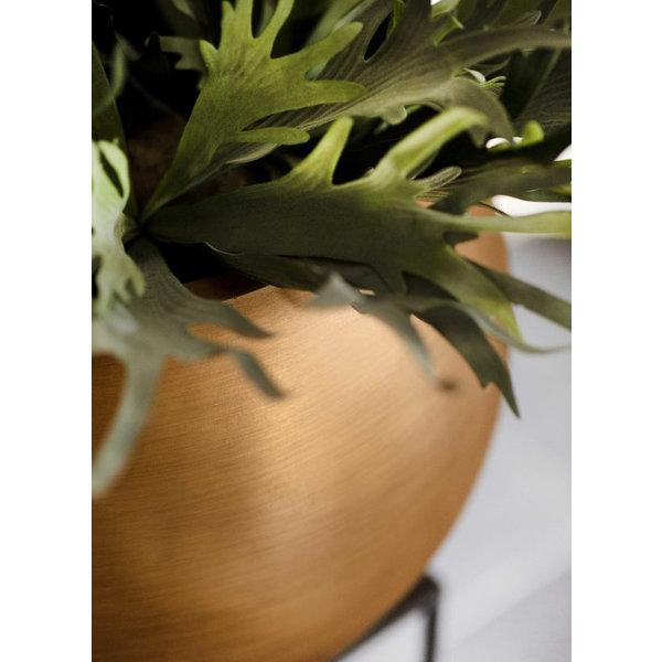 Capi Capi Nature Retro Vase Bowl Gold Ø 40