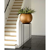 Capi Nature Retro Vase Bowl Gold Ø 40