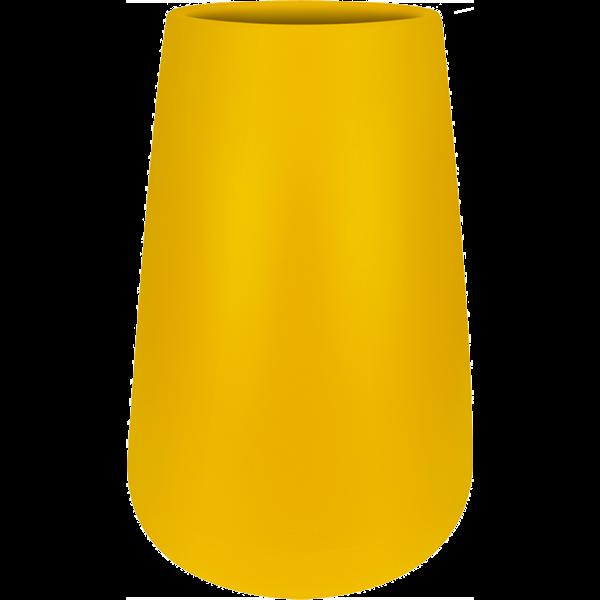 Elho Pure Cone Hoog Geel Ø 43