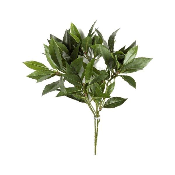 Flame Ret. Laurel Bay Spray - kunstplant