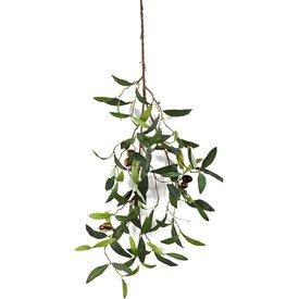 Fleur.nl - Olive Spray - kunstplant