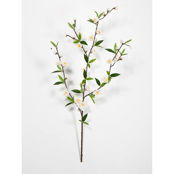 Cherry Blossom Spray White - kunstplant
