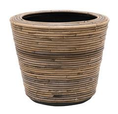 Rieten potten / bamboo