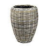 Drypot Rattan Vase Grey High Ø 48 cm