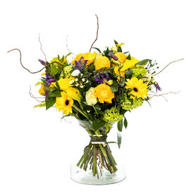 Fleur.nl - Boeket Yellow Explosion