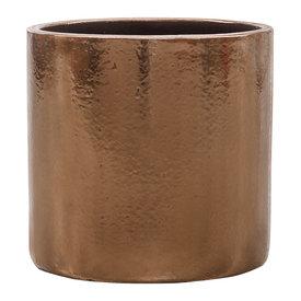 Fleur.nl - Cylinder Gold sierpot Ø 30 cm