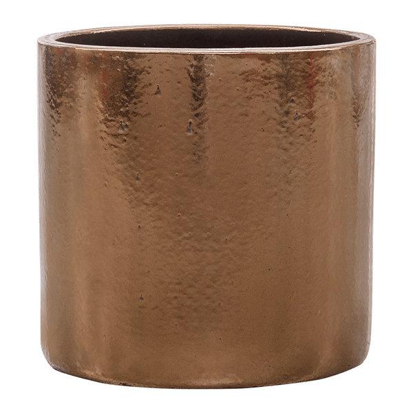 Cylinder Gold sierpot Ø 30 cm - hoogte 30 cm