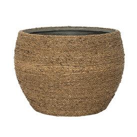 Fleur.nl -Pottery Pots Bohemian Straw Abby Ø 50 cm