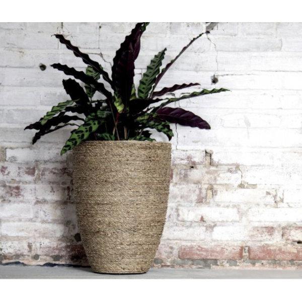 Pottery Pots Bohemian Straw Grass High Ø 30 - Hoogte 41 cm