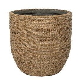 Fleur.nl -Pottery Pots Bohemian Straw Cody Ø 17 cm