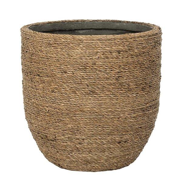 Pottery Pots Bohemian Straw Abby Ø 17 cm - Hoogte 15 cm