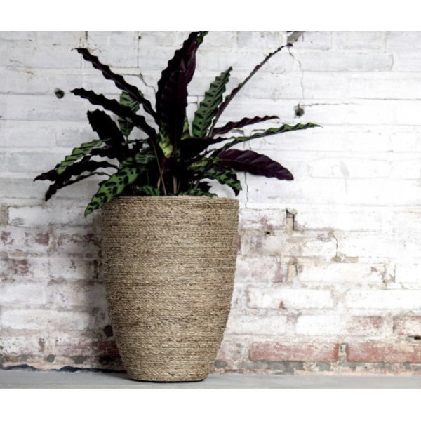 Pottery Pots Bohemian Straw Patt Ø 25 cm - Hoogte 22 cm