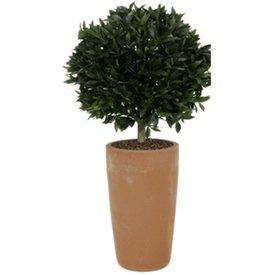 Fleur.nl - Laural Ball pot high - kunstplant