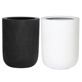 Fleur.nl -Pottery Pots Fiberstone Dice High Ø 34 cm