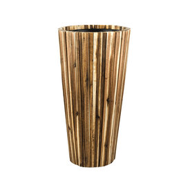 Fleur.nl - Marrone Wood Box 90 cm