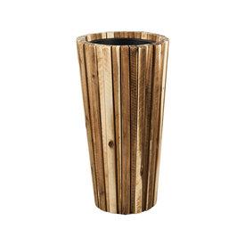 Fleur.nl - Marrone Wood Box 70 cm
