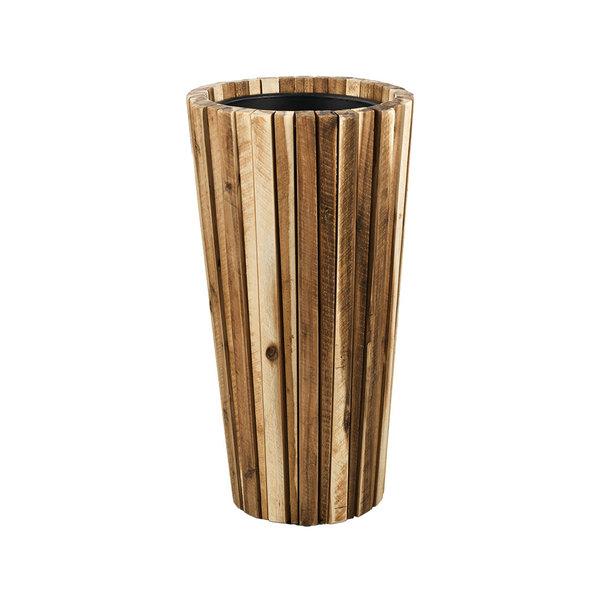 Marrone Wood Box 70 cm (+ inzetbak)  - medium