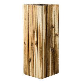 Fleur.nl - Marrone Wood Box High Ø 34 cm