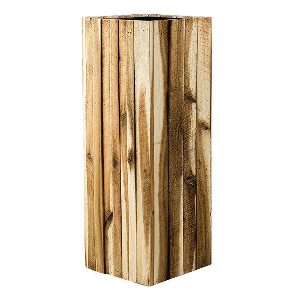 Marrone Wood Box High Ø 34 cm (+ inzetbak)