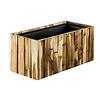 Marrone Wood Box Long 61 cm (+ inzetbak) - hoogte 23 cm