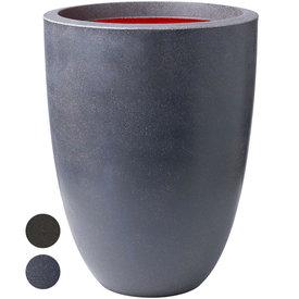 Fleur.nl -Capi Urban Smooth Vase Elegance Low Large Ø 36