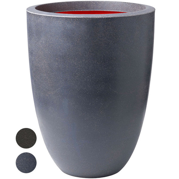 Capi Urban Smooth Vase Elegance Low Large Ø 36