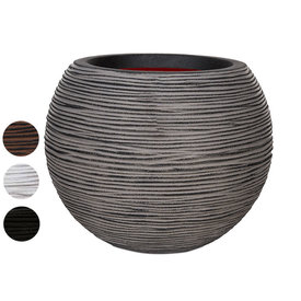 Fleur.nl -Capi Nature Vase Ball Rib Medium Ø 40