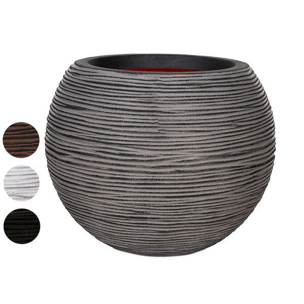 Capi Nature Vase Ball Rib Medium Ø 40