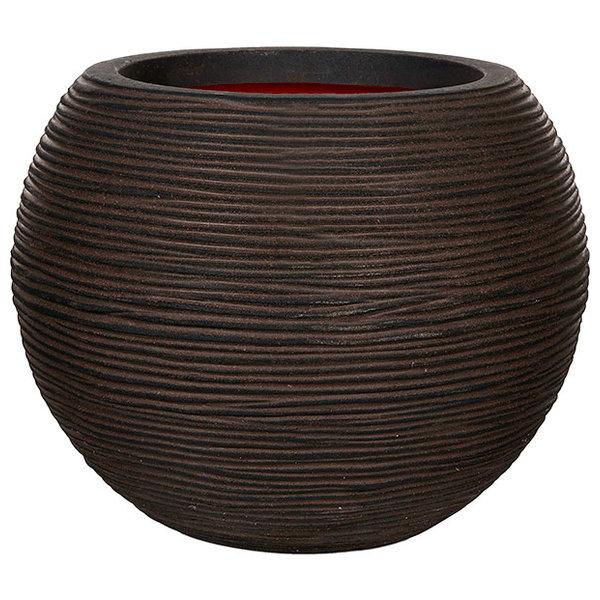 Capi Nature Vase Ball Rib Large Ø 62