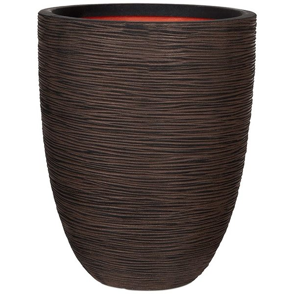 Capi Nature Vase Elegant Low Rib Medium Ø 36