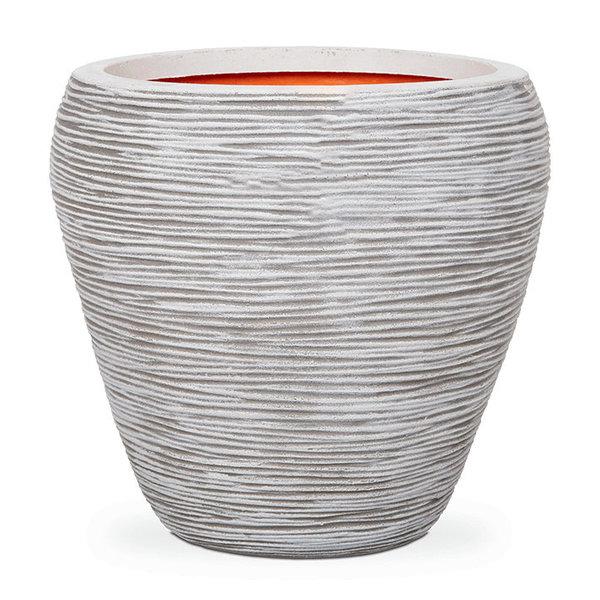 Capi Nature Rib Vase Tapered Round Ø 42