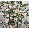 Cherry Blossom kunstplant in Amora pot goud