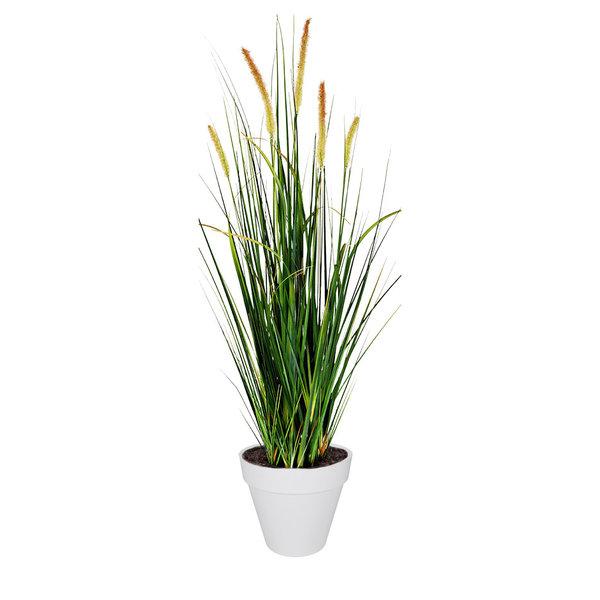 Elho Foxtail Grass kunstplant in pot Urban Loft Large