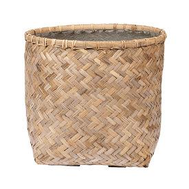 Fleur.nl -Pottery Pots Bohemian Bamboo Round Ø 46 cm