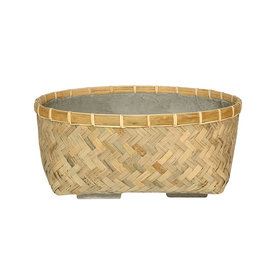 Fleur.nl -Pottery Pots Bohemian Bamboo Roll 48 cm