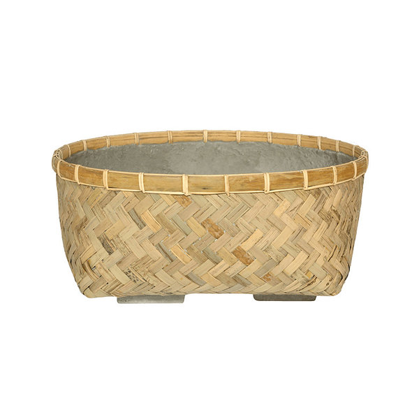 Pottery Pots Bohemian Bamboo Roll 37 cm