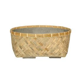 Fleur.nl -Pottery Pots Bohemian Bamboo Roll 29 cm