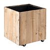 Marrone Wood Box Wheels 51 cm  (+ inzetbak) - large